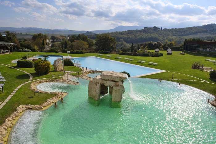 Un soggiorno rigenerante all 39 adler thermae di bagno vignoni family welcome - Bagno vignoni adler ...