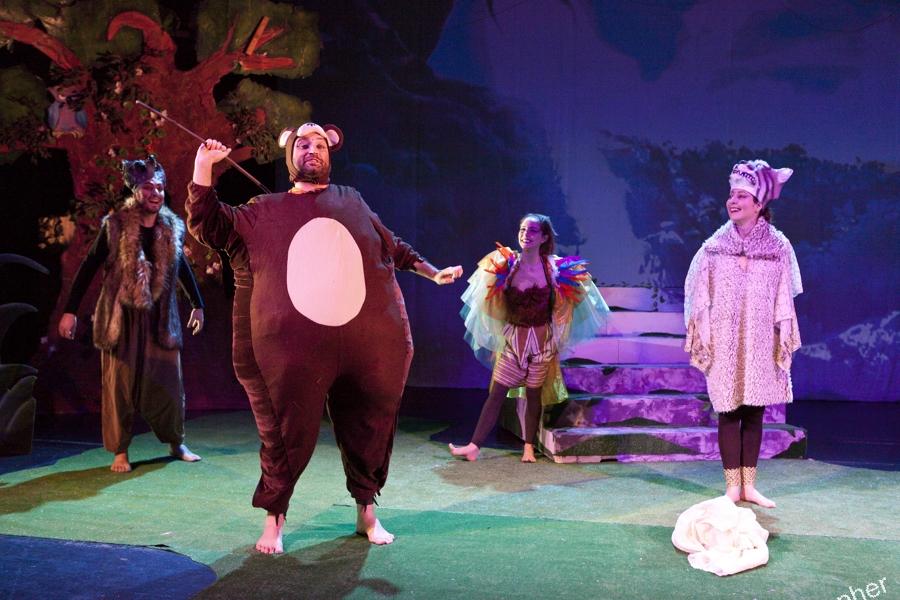 il libro della giungla teatro roma
