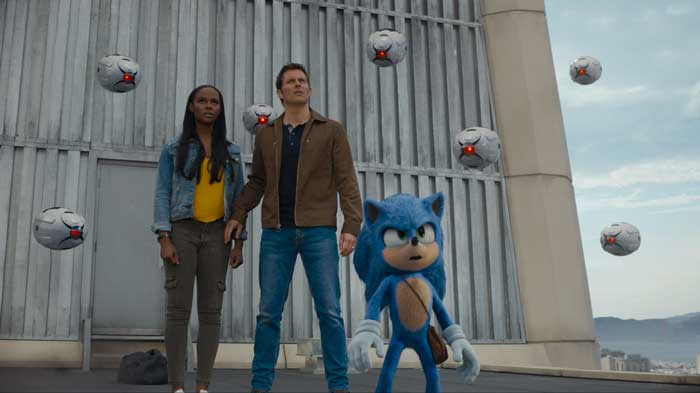 sonic il film al cinema