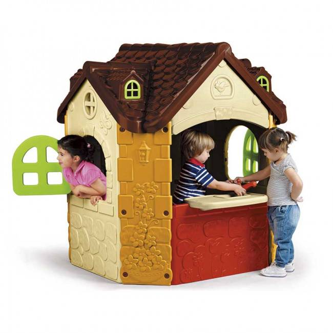 casetta hansel e gretel giardino bambini