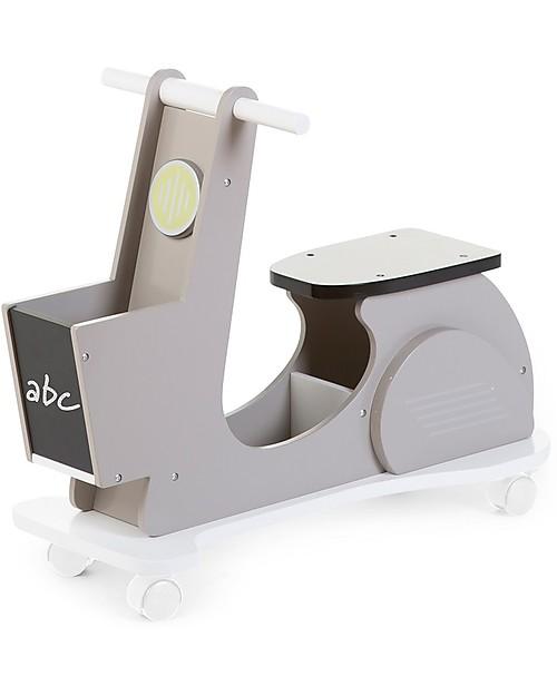 childhome-scooter-cavalcabile-con-ruote-a-360°-grigio-cavalcabili