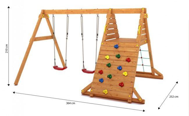 gioco-esterno-bambini-spider-kin-misure