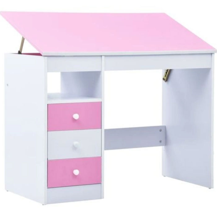 scrivania-inclinabile-rosa-bambini