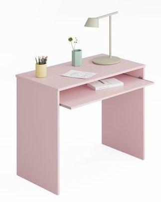 scrivania-con-ripiano-estraibile-colore-rosa