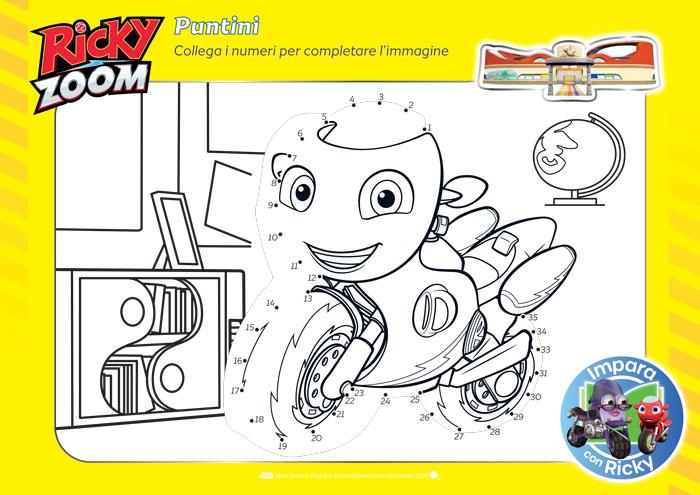 Ricky Zoom giochi educativi