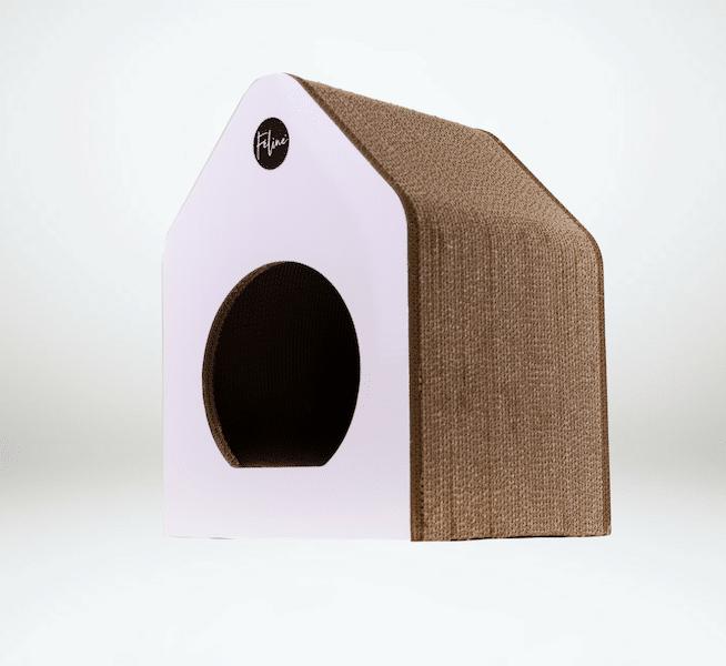 cuccia-cartone-gatti-feline