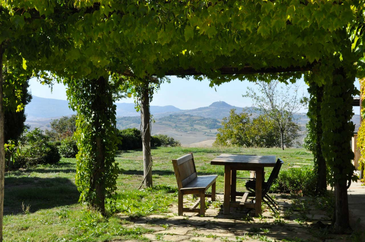 casale val d'orcia family friendly